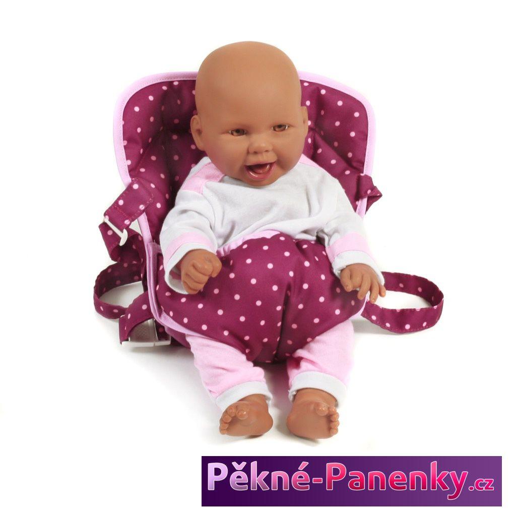 dětské popruhy, taška pro panenky nebo panenku - miminko, nosící ruksak, kvalitní značková klokanka Bayer Chic