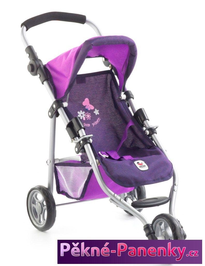 Bayer Chic dětský, sportovní, kvalitní kočárek – trojkolka pro panenky Bayer
