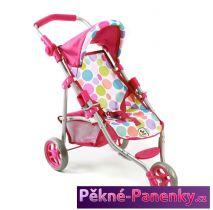 sportovní trojkolka pro panenky Bayer Lola Pinky Bubbles