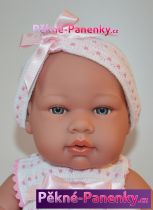 Realistické miminko Arias® s medvídkem 42cm