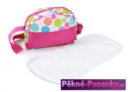 přebalovací taška na kočárek Bayer Chic Pinky Bubbles