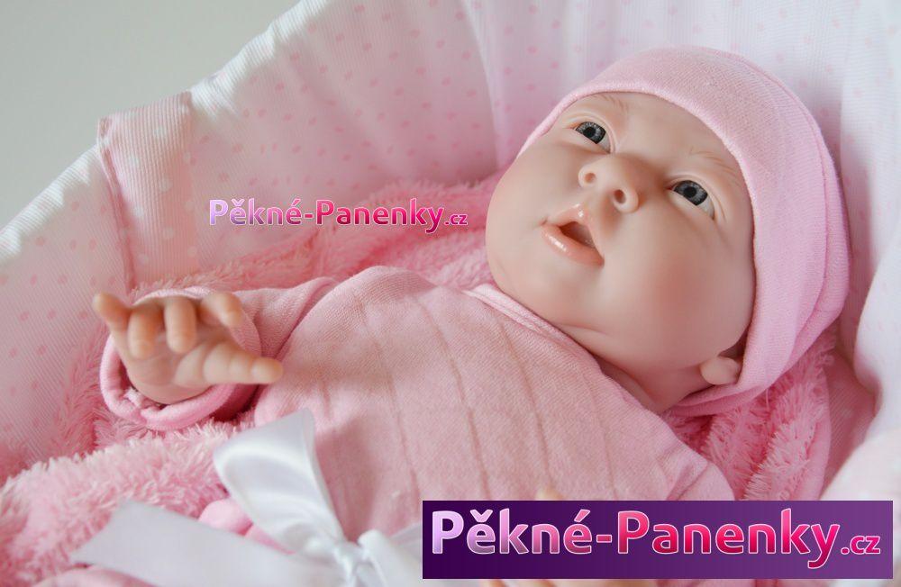 Berenguer realistická španělská panenka, která vypadá jako živé miminko