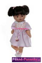 Mluvící panenka Nines černé vlasy 40cm