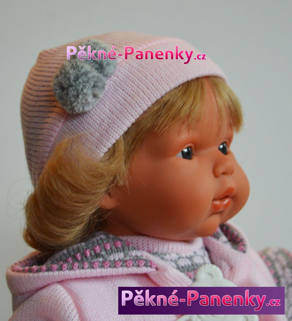 originalní španělské panenky pro děti panenka s dlouhými vlasy, která vypadá jako živá Llorens mluvící panenky ze Španělska pro děti