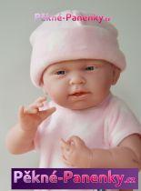 Realistické miminko Berenguer® holčička s hvězdičkovým kompletem 38cm