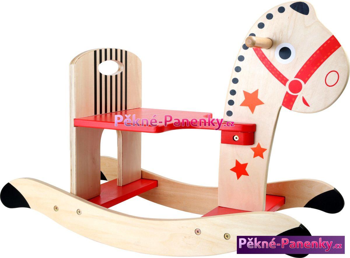Legler houpací koně, houpací kůň, dřevěný houpací kůň, houpací kůň pro děti, dřevěn