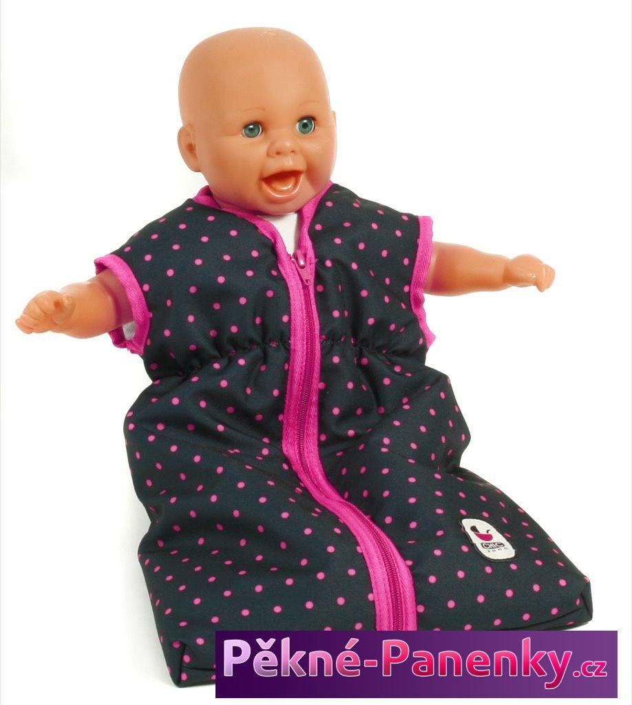kvalitní barevný spací dětský pytel pro miminko - panenky značky Bayer Chic určený pro nejmenší miminka panenky