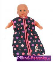 originalní španělské panenky pro děti kvalitní barevný spací dětský pytel pro miminko - panenky značky Bayer Chic určený pro nejmenší miminka panenky mluvící panenky ze Španělska pro děti