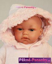 originalní španělské panenky pro děti realistická, mluvící, malá panenka miminko, španělská panenka jako živé miminko Antonio Juan mluvící panenky ze Španělska pro děti