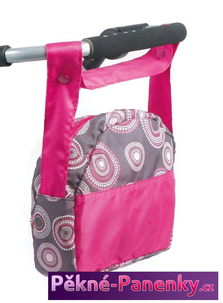 Bayer Chic kvalitní přebalovací cestovní taška na kočárek, taška na řídítka
