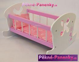 kolébka pro panenky Arias® růžová