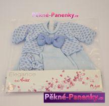 Oblečení pro panenky Arias® 42cm šatičky modré