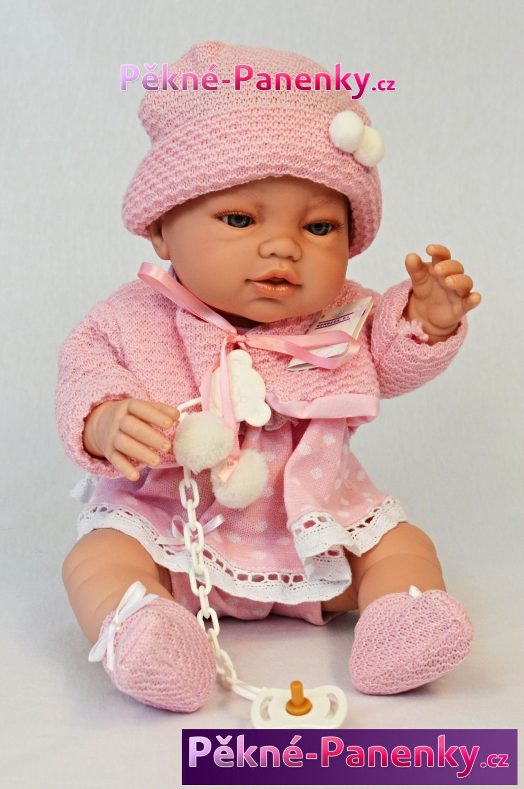 Berbesa realistické miminko, které vypadá jako živé, realistické španělské panenky a miminka, koupací miminko