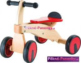 dětské dřevěné odrážedlo pro nejmenší děti