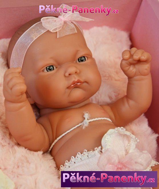 Antonio Juan realistická dětská panenka, holčička, kvalitní panenka, španělské miminko jako živé
