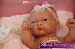 originalní španělské panenky pro děti realistická dětská panenka, holčička, kvalitní panenka, španělské miminko jako živé Antonio Juan mluvící panenky ze Španělska pro děti