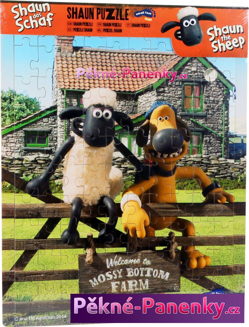 Legler Dřevená hračka puzzle ovečka Shaun