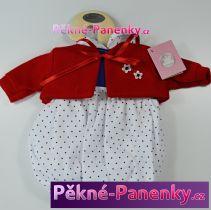Oblečení pro panenky Berbesa® 42cm Sandra červené