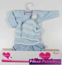 Oblečení pro panenky Arias® 42cm modrý komplet s čepicí