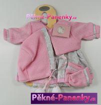 Oblečení pro panenky Berbesa® 42cm Angels růžovo-šedé