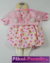 Oblečení pro panenky Berbesa® 42cm Sandra kytičky
