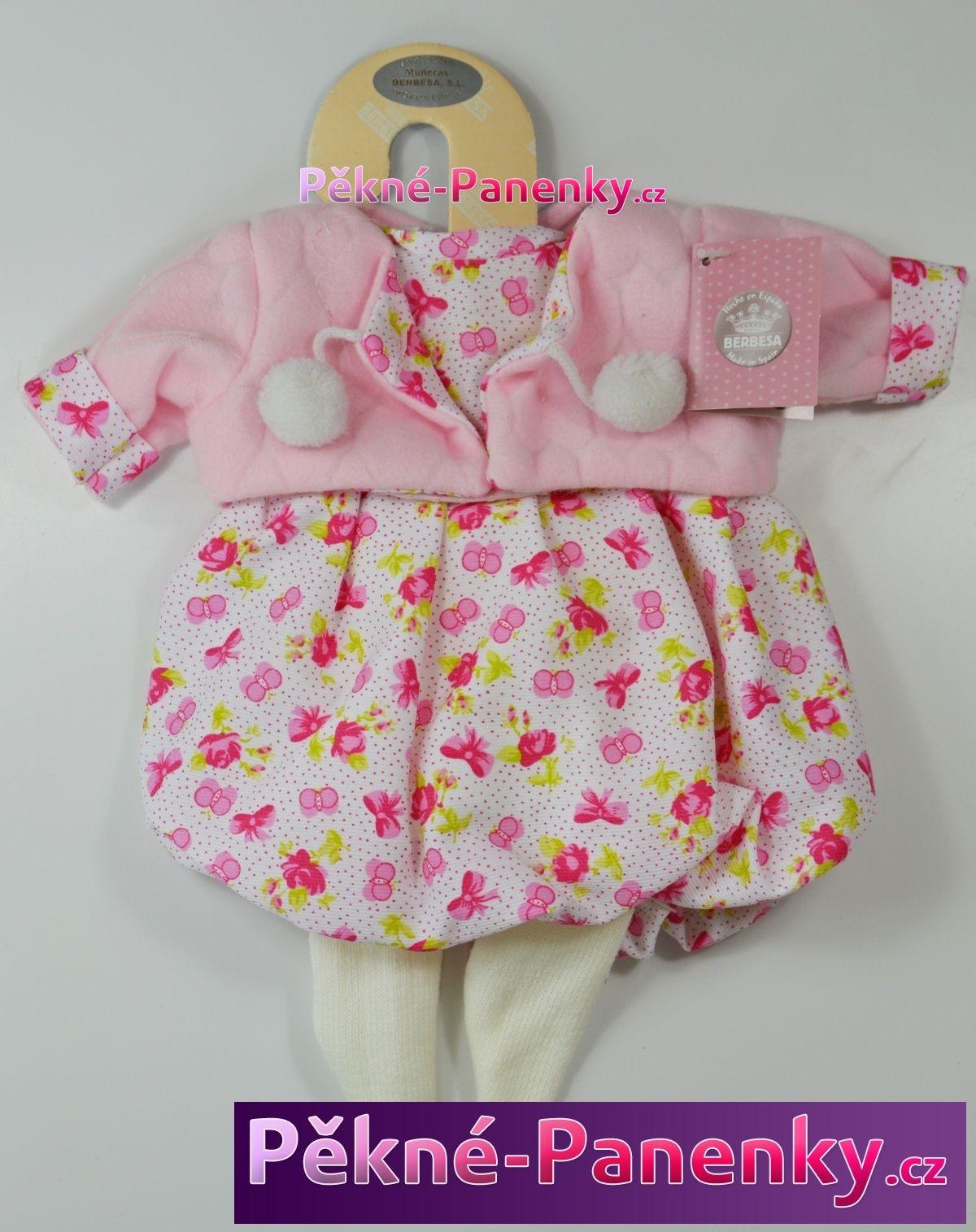 Berbesa levné oblečky, kvalitní oblečení pro panenky, háčkované šatičky pro panenku, plete