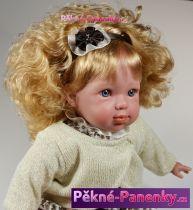 originalní španělské panenky pro děti realistická česací panenka s velmi bohatými vlasy, kvalitní španělské panenky Arias mluvící panenky ze Španělska pro děti