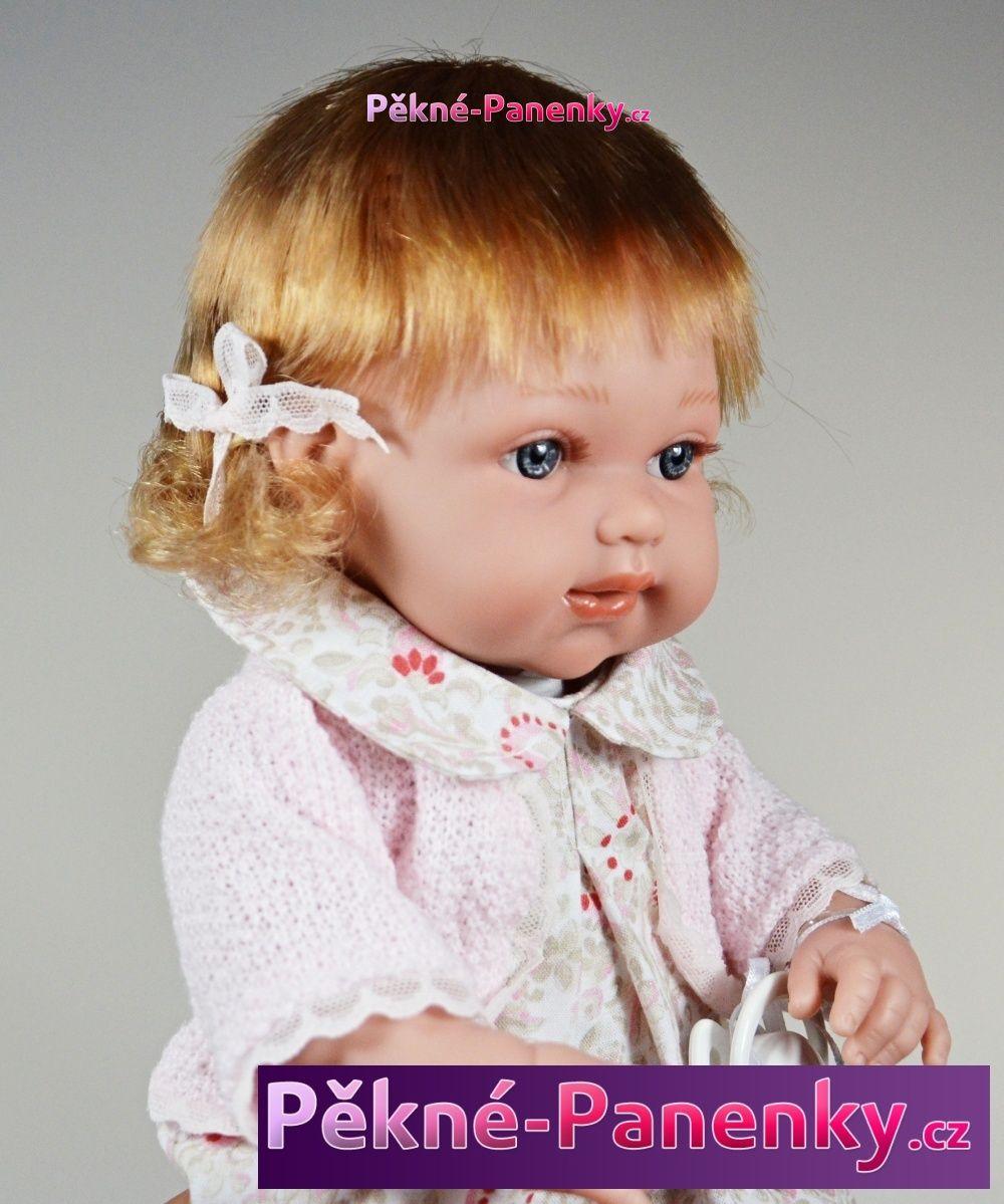 Arias realistická mluvící panenka, která vypadá jako živá, kvalitní španělské panenky
