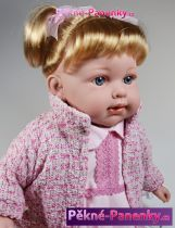 Mluvící realistická panenka Arias® Elian 42cm