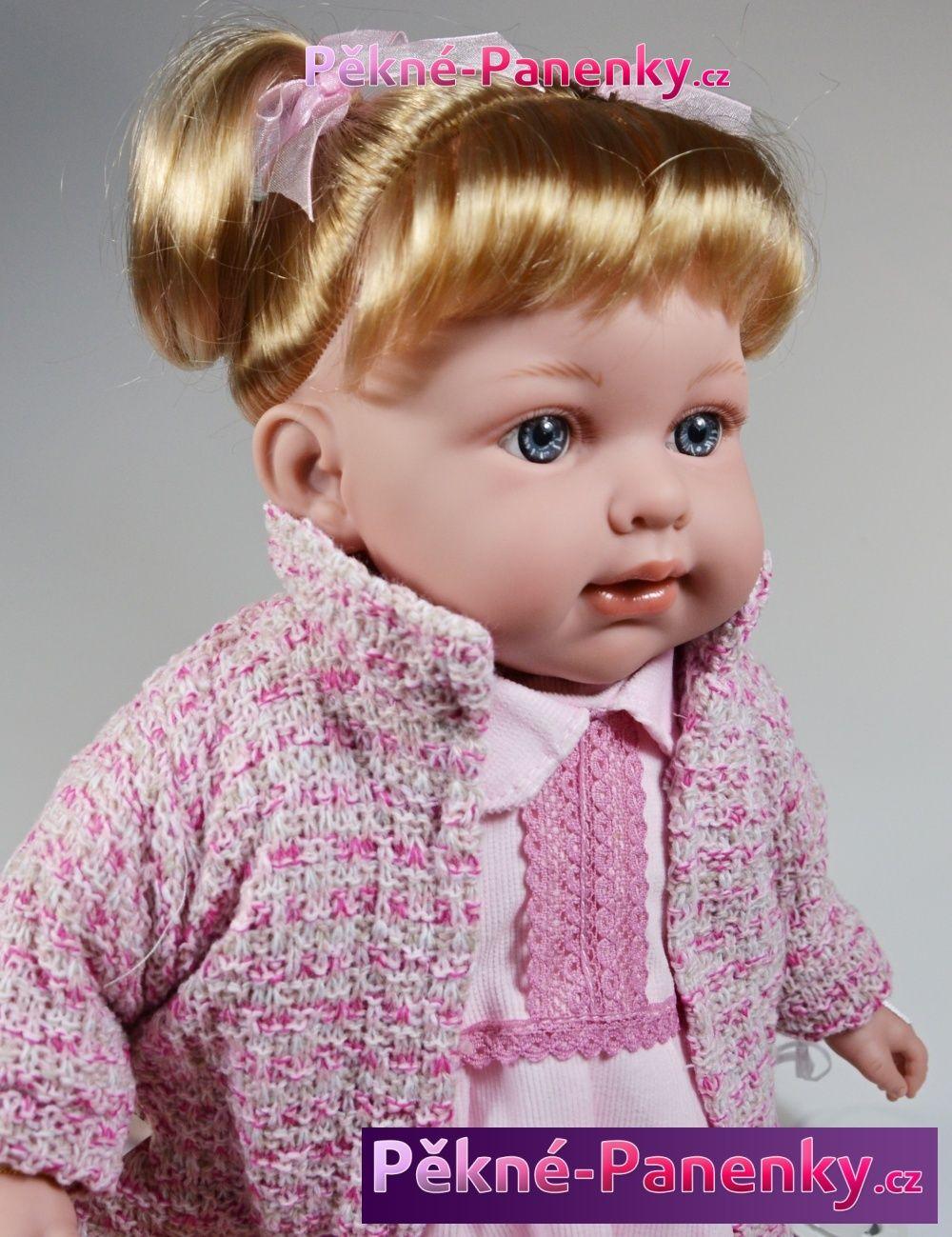 Arias realistická mluvící panenka s vlasy, kvalitní španělské panenky