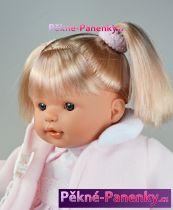 Mluvící panenka Toyse® Lisa růžová 38cm