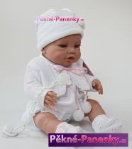 Realistické miminko jako živé Berbesa® Angeles 42cm