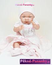 realistické miminko D´nenes Carmen 43cm