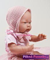 realistické miminko D´nenes Isabel 43cm