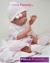 realistické miminko D´nenes Dolores 43cm