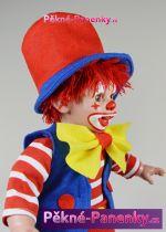 originalní španělské panenky pro děti realistický kašpárek - panenka jako klaun Arias mluvící panenky ze Španělska pro děti