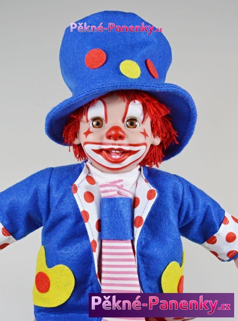 Arias realistický klaun - panenka jako kašpárek