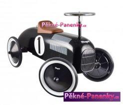 dětské retro odrážedlo černé auto