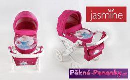 Dětský kočárek pro panenky JASMINE Kids víla