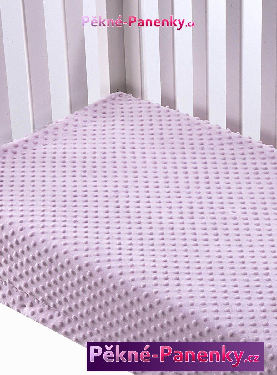 MORA kvalitní měkká dětská deka pro miminka do kočárku, deka z mikrovlákna