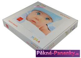 originalní španělské panenky pro děti luxusní zimní dětská deka do kočárku, deky mikroplyš MORA mluvící panenky ze Španělska pro děti