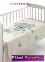 originalní španělské panenky pro děti luxusní zimní dětská deka pro miminka do kočárku, deky mikroplyš MORA mluvící panenky ze Španělska pro děti