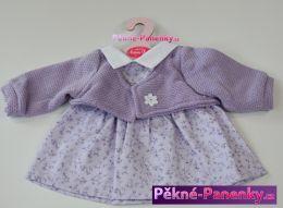 Oblečení pro panenky Antonio Juan® 42cm fialová