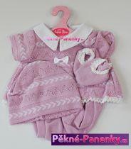Oblečení pro panenky Antonio Juan® 42cm tmavě růžové šatičky
