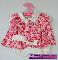 Oblečení pro panenky Antonio Juan® 42cm červené šatičky