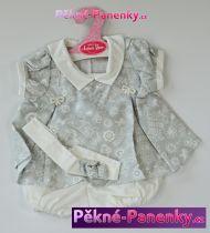 Oblečení pro panenky Antonio Juan® 42cm šedé šatičky