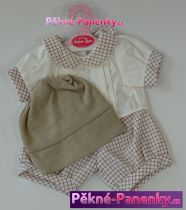 Oblečení pro panenky Antonio Juan® 42cm kostkovaný komplet