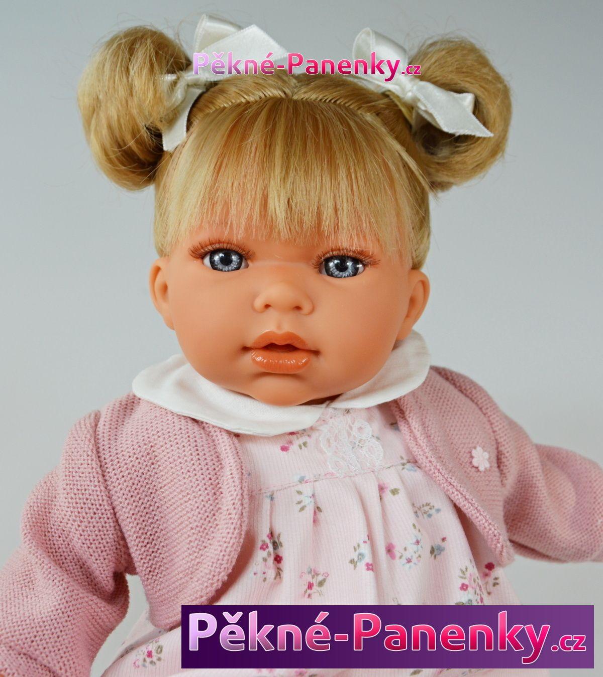 Antonio Juan realistická, mluvící panenka, která vypadá jako živá