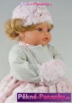 Mluvící panenka Antonio Juan® Beni růžové šaty  42cm