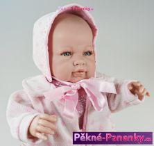 Velká mluvící realistická panenka Berbesa® Sara 50 cm
